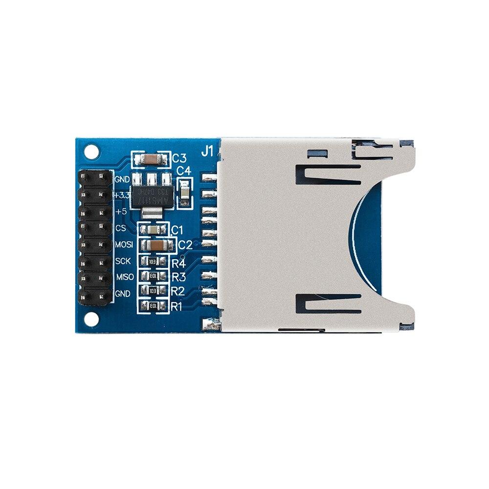 Free shipping ! SD Card Module Slot Socket Reader for Arduino UNO R3 Mega 2560 Nano(China)