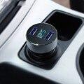 Автомобильное Зарядное Устройство 5 V 3.1A Быстрая Зарядка Dual USB Порт СВЕТОДИОДНЫЕ дисплей Прикуривателя Телефон Адаптер Напряжения Автомобиля Диагностический Для Смарт-телефон