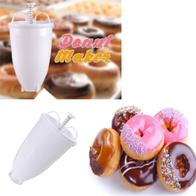 Plastic Doughnut Maker Machine Mold DIY Tool Kitchen Pastry Making Bake Ware Accessories