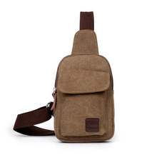 Men's Small Travel Shoulder Bag Male Canvas Casual Vintage Crossbody Bags Flap Messenger Bag Phone Pouch For Men bolso mujer real field fashion canvas men shoulder bag cross body handbags casual vintage messenger bags flap pocket mesh pouch kaukko 91