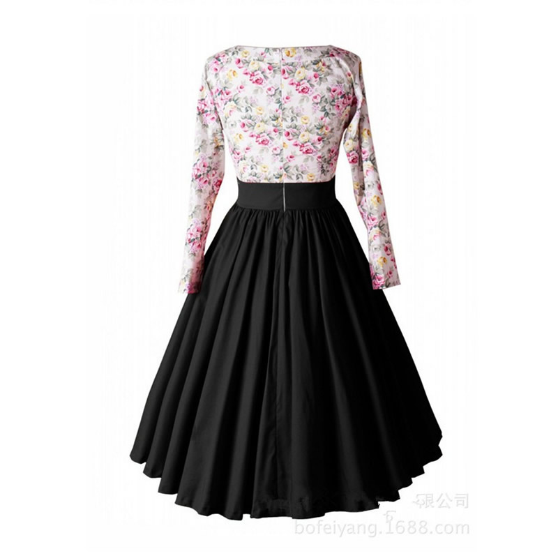 1950s Vintage Dresses Elegant Evening Princess Retro Gowns Long ...