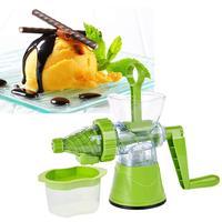 Multifunctional Manual Fruit Ice Cream Machine Crank Juicer Extractor Squeezer Kitchen Tool 38cm x 22cm