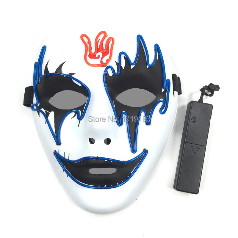 20Pieces Brand Design Luminous Neon Led Bulbs Stage Lamp Fire Forehead Demon EL Cold Light Monster Mask Light Up Birthday Decor майка классическая printio the neon demon