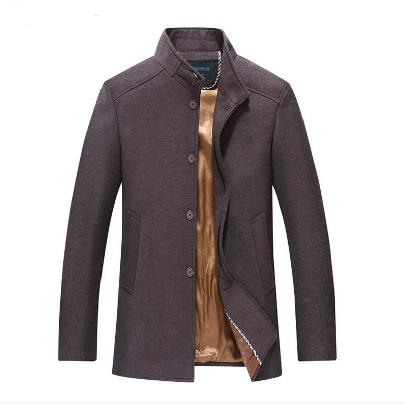 Popular Mens Brown Pea Coat-Buy Cheap Mens Brown Pea Coat lots