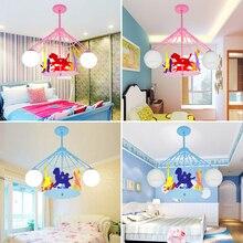 Childrenu0027s Room Pendant Lamp Bedroom Lamp Creative Carousel Lamp Suction  Pendant Light Boy Cartoon Lamp WL5051742