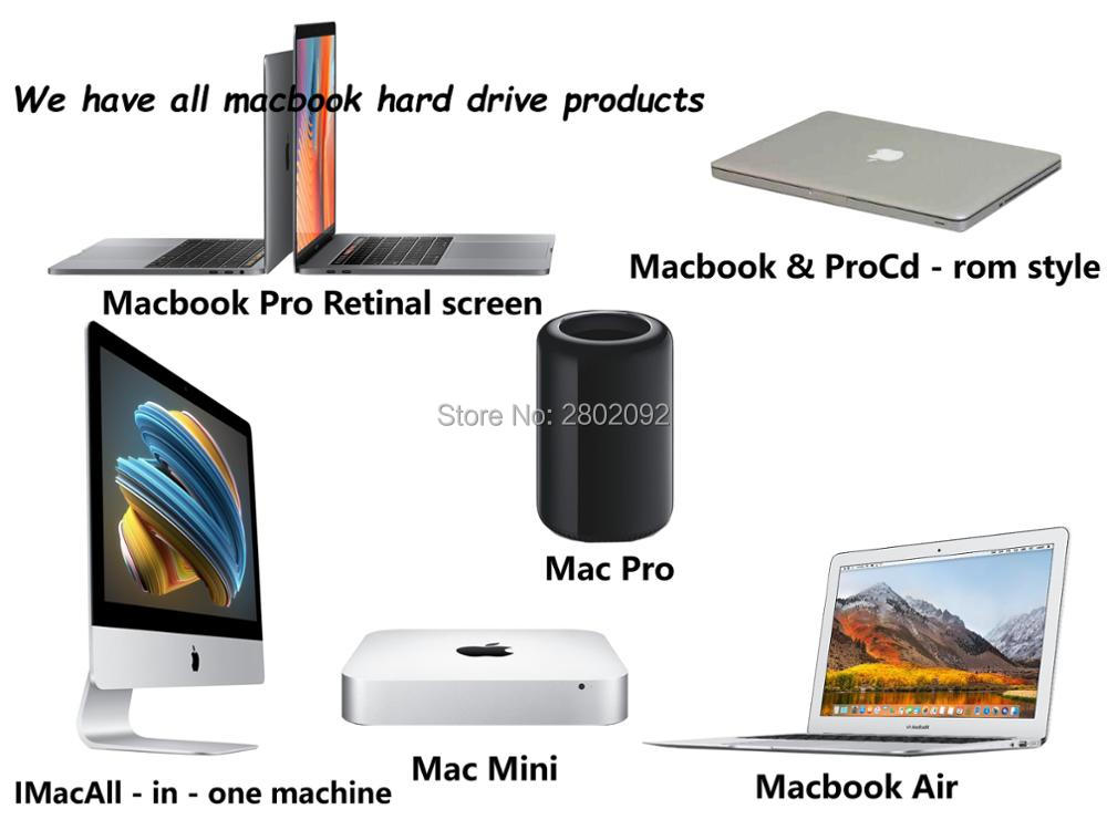 NEW 512GB SSD 2010 2011 Macbook Air A1369 A1370 SOLID STATE DISK - Spēles un aksesuāri - Foto 2