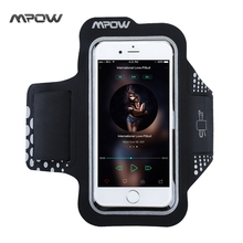 Original Mpow for iPhone 7 Sweatproof Sport Running Armband 5.2 Inch with Adjustable Strap for iPhone 7 etc Smart Phones