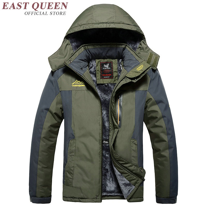 Bombers jacket hooded casual male jacket winter Waterproof Windbreaker Male Coat Rain Jacket Parka DD142 C