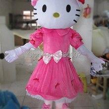 3ceb2c90a Miss Hello Kitty Mascot Costume Adult Size Hello Kitty Mascot Costume High