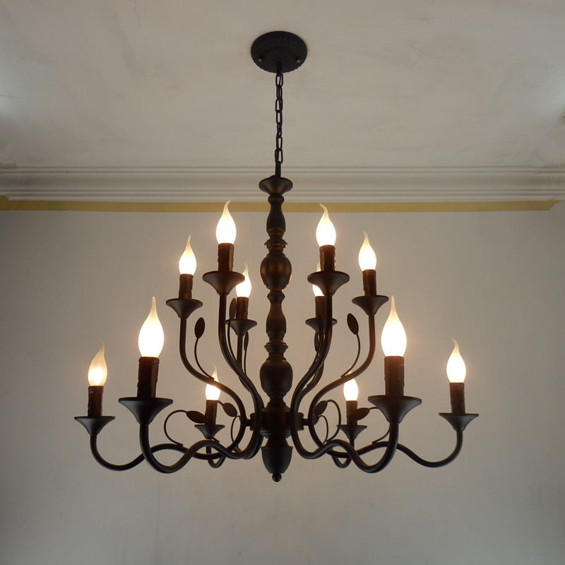 Art Deco Foyer Lighting : Hotel entrance art deco black chandeliers for coffee shop