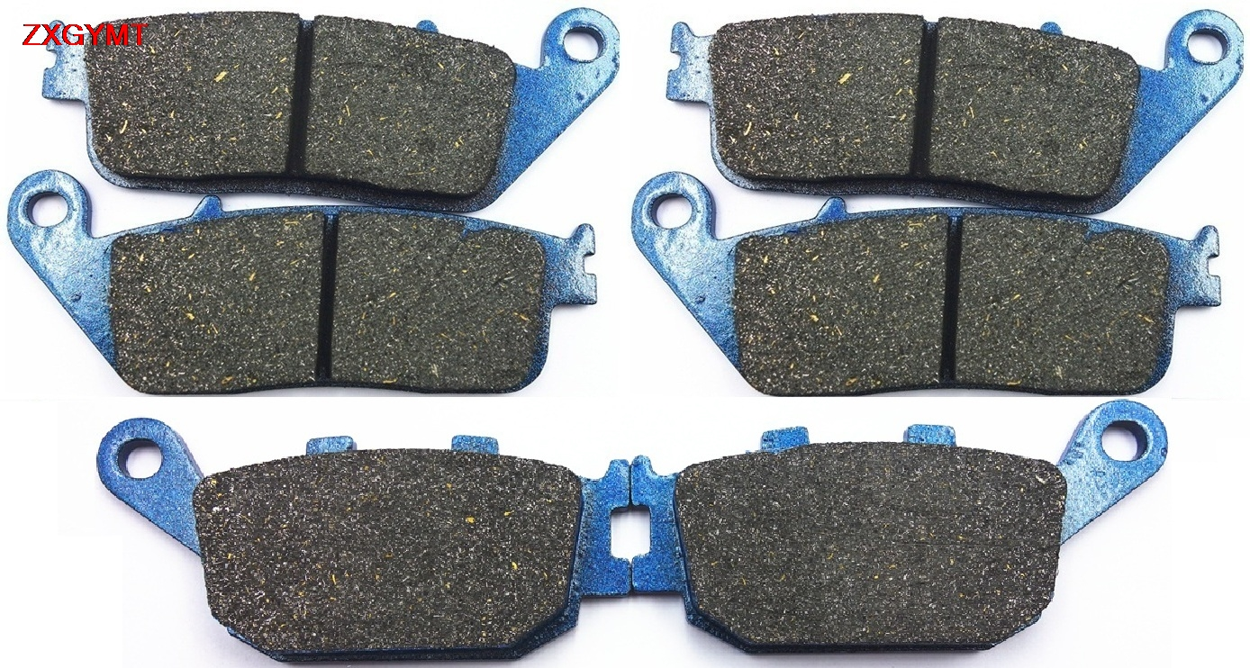 Sintering Brake Pad Set for <font><b>HONDA</b></font> CB <font><b>600</b></font> CB600 <font><b>Hornet</b></font> 1998 - <font><b>2006</b></font> Front Rear 06 98 05 04 03 02 01 00 99 image