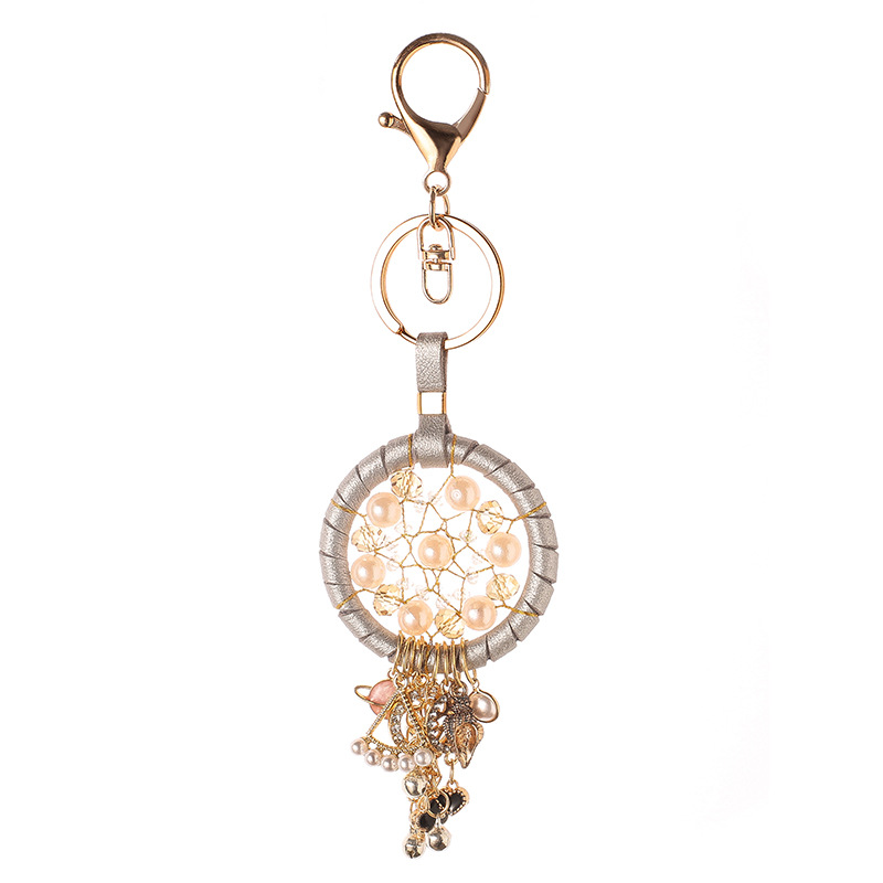 Image 5 - New Fashion Key Ring Dream Catcher Keychain Dream Catcher Dreamcatcher Key Chain Feather Wind Chime Car Hang Up Accessory-in Key Rings from Automobiles & Motorcycles