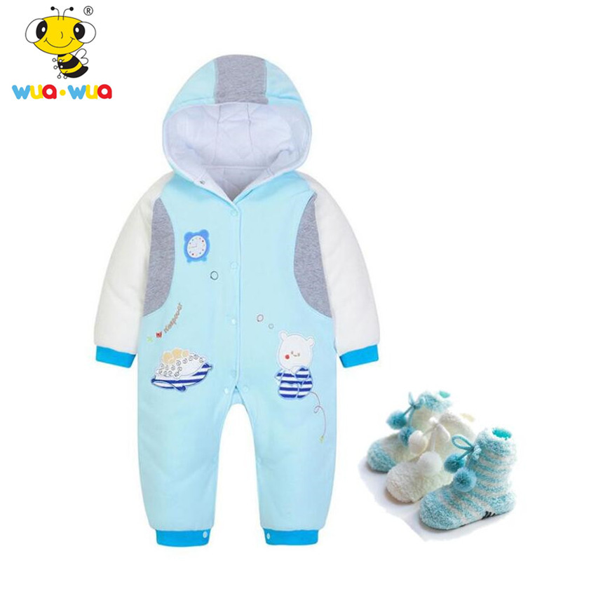 wuawua brand baby boy romper baby winter clothes toddler costume newborn baby jumpsuit thick cotton overalls infant clothing newborn baby clothes winter baby boy clothes cotton romper jumpsuit gentleman costume baby rompers infant boy clothes 0 12m