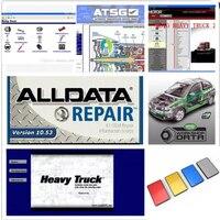 Alldata 2020 자동 복구 소프트웨어 모든 데이터 v10.53 + Mit // chell OD5 2015 + moto 무거운 트럭 + atsg 46 in1 1 테라바이트 HDD 모든 자동차 및 트럭