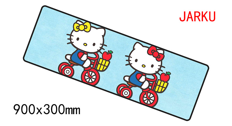 900x300x4mm hello kitty pad mouse gaming mousepad gamer mouse mat Aestheticism pads game computer padmouse laptop play mat