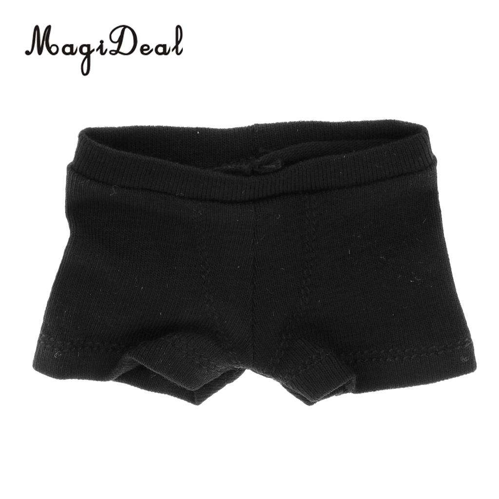 1//6 White/&Black Underwear Male Boxers for 12inch Figures Body Model Toy