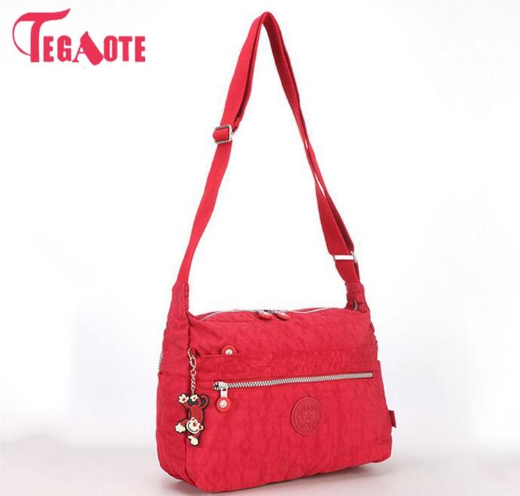 TEGAOTE Bag Female Messenger Bags Handbags Women Famous Brands Solid Crossbody Shoulder Beach Bags Bolsas Sac A Main Sac Femme