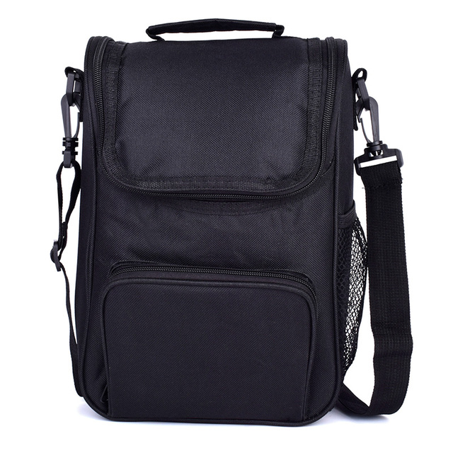 f8c7d6ce1c7 Cool Lunch Box insulated Lunch Thermal Bag for Women Men Work School Kids  Girls Boys With Shoulder Strap Water Bottle Holder