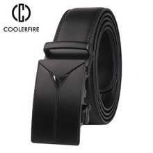 Luxury high quality cow genuine leather belts for Men