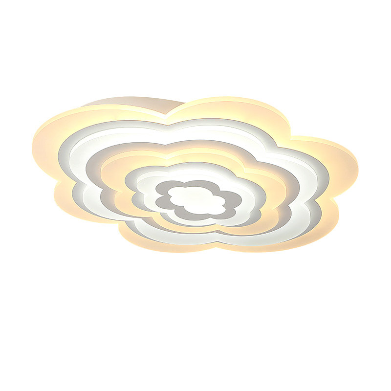 Dimming Cloud Acrylic Lamp Modern Led Ceiling Light With Remote Control Living Room Bedroom Decor Home Lighting Fixtures 220V round led ceiling light white modern acrylic ceiling lamp dimmable with remote control for kids bedroom lighting fixtures