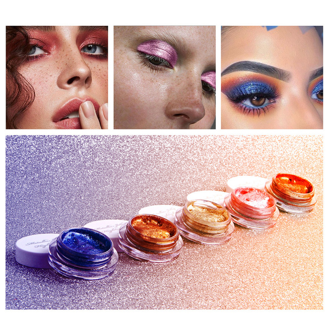 QIBEST 25 Color Jelly Eye Shadow Wet Gel Cream Sexy Monochrome Shimmer High Light Brightening Make Up Concealer  TSLM1 4