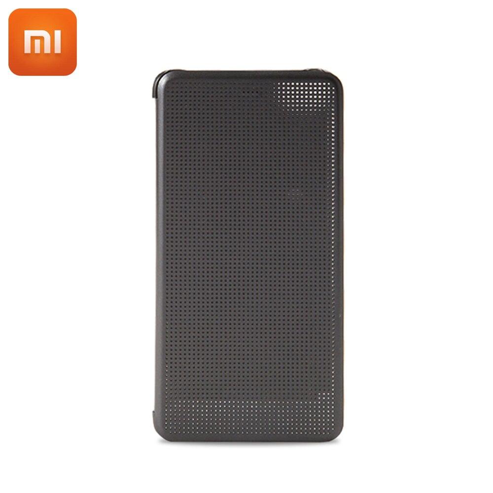 imágenes para 100% original xiaomi mi mi5s 5S flip case case cubierta de cuero inteligente para xiaomi casos de protección