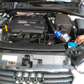 For Audi A3 1.8T S3 2.0T EDDYSTAR CF-A Carbon Fiber Cold Air Intake System Air Filter Air Intake Kit Free Shipping