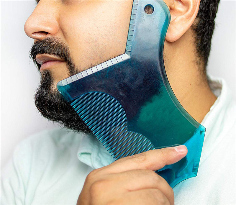 Beard Shaping Innovative Tool With Comb 7