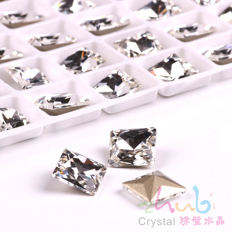Czech Glass Flatback Loose Beads 10 12MM Faceted Crystal Rhinestones Sew On  For Charm Beading DIY Making Dress Pendant -in Beads from Jewelry    Accessories ... 7db40a397020