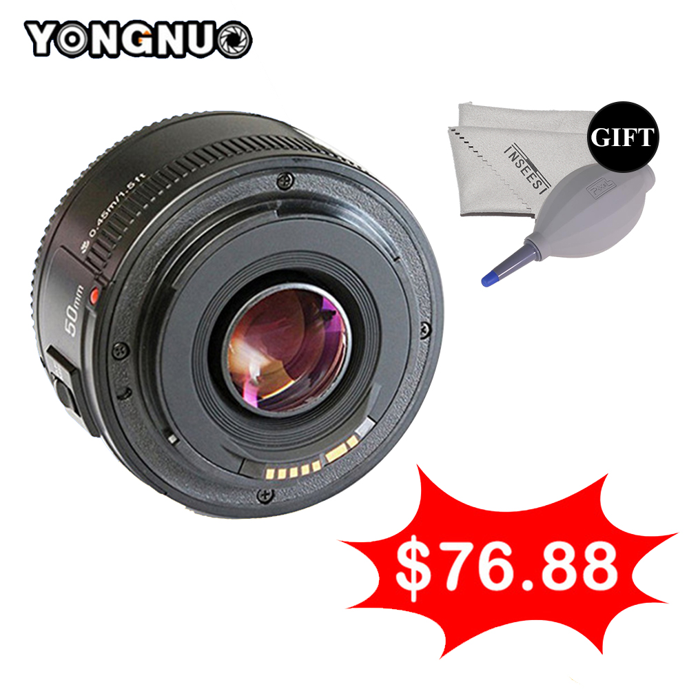 YONGNUO YN50mm F1.8 Prime Lens For Nikon DSLR Camera Yongnuo yn50mm Large Aperture Auto Focus Lens As Nikon AF-S 50mm 1.8G yongnuo yn50mm f1 8n large aperture auto focus af lens for nikon dslr camera used 50mm f1 8 lens gift for 58mm mcuv