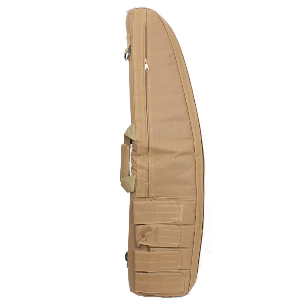 Penghantaran Percuma 95CM NEW Taktikal Heavy Gun slip Bevel Carry Bag Rifle Case bahu kantung untuk Memburu