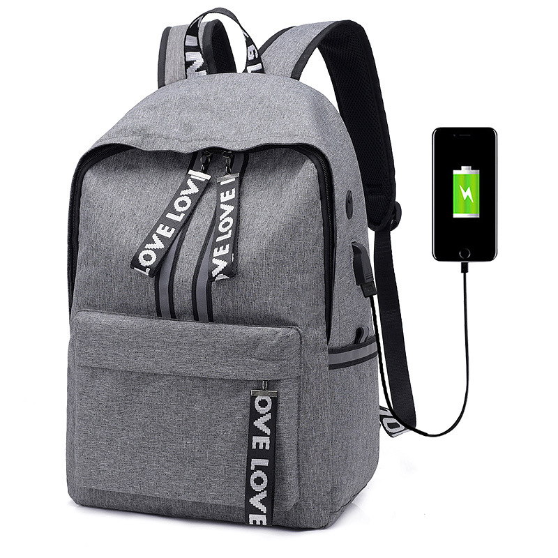 laptop bag USB earphone notebook Backpack Travel campus Bag for hp acer dell apple laptop case macbook pro 15 air case matebook
