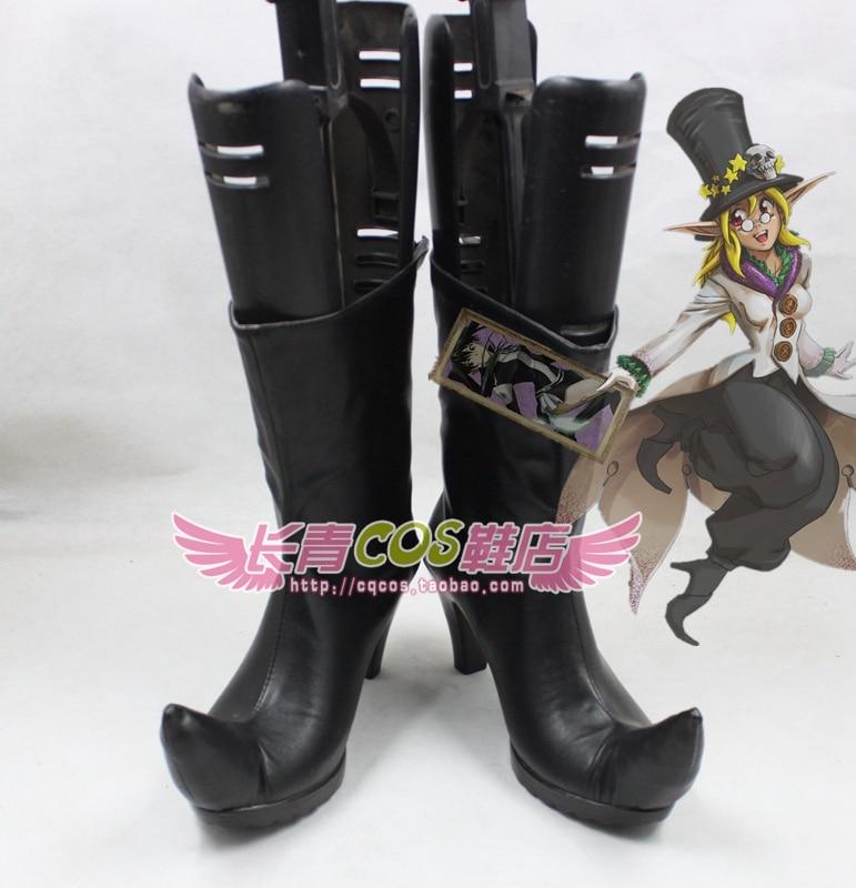 Il millennio cosplay D Ordine man Gray stivali Su di conte scarpe awFwSZqE