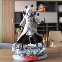 Naruto Uchihabo six spotted model boxed hand made ornaments anime figure Naruto ultimate boss six spotted toys