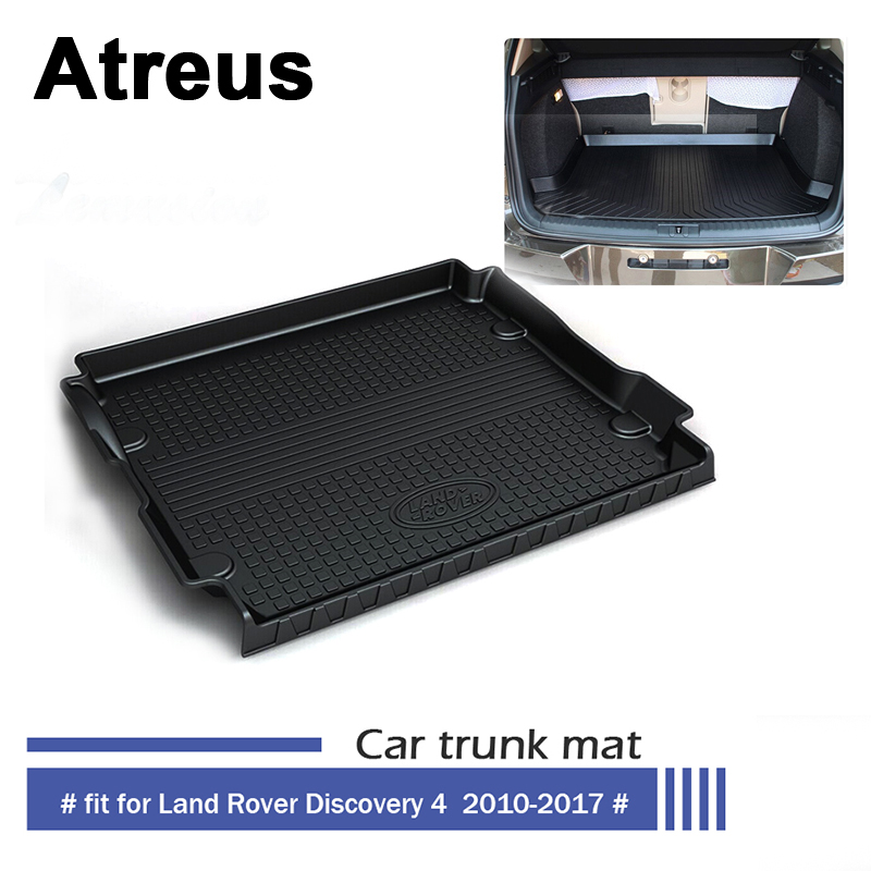 Atreus Car Waterproof Trunk Mat Tray Floor Carpet Pad For Land Rover LR4 Discovery 4 2010 2011 2012 2013 2014 2015 2016 2017 все цены