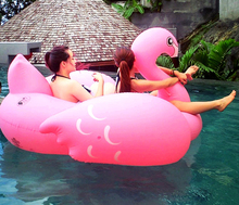 190x190cm plastic swimming pool toys flamingo swim ring pools adult kids baby intex large inflatable animal swimming pools