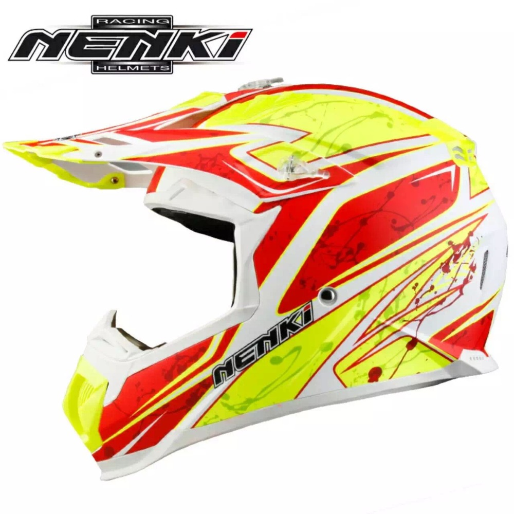 Off Road Helmet NENKI MX315 ATV Dirt Bike Motorcross Rally Racing Capacete Casco Casque Kask Motorcycle Helmets EU Standard ECE