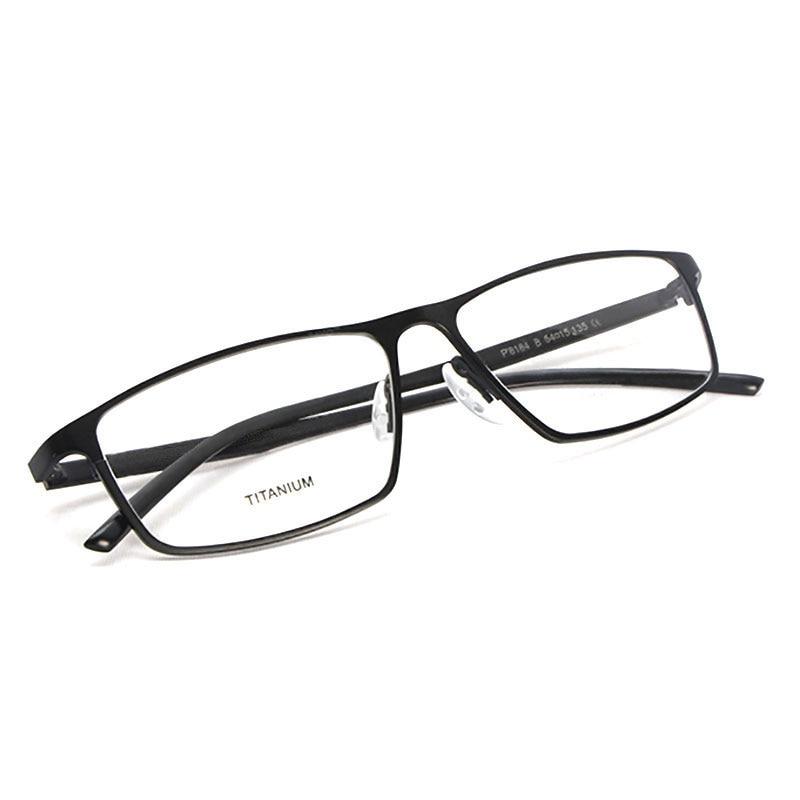 Reven Glasses Optical Eyeglasses P8184 Titanium Business Men Prescription Eye Glasses For Successful Man Eyewear Spectacles