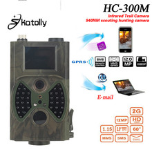 Skatolly HC300M Trail Chasse Caméra HC-300M Full HD 12MP 1080 P Vidéo Nuit Vision MMS GPRS Scoutisme Infrarouge Game Hunter lumière