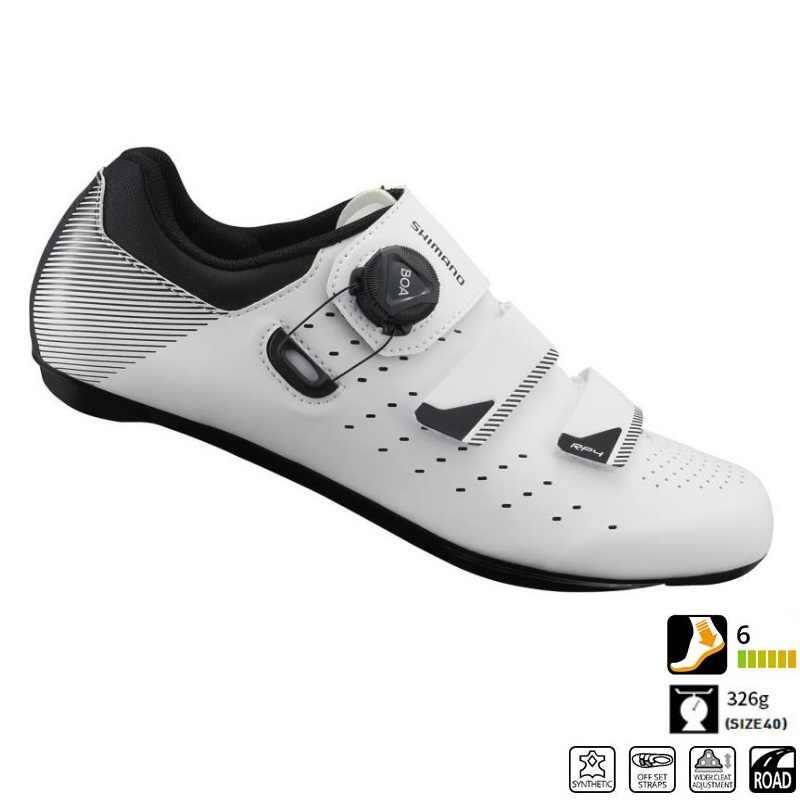 47e020636 ... Shimano SH RP4 (RP400) zapatos de carretera de ventilación de carbono  zapatos de carretera ...