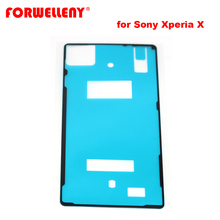 For Sony Xperia X Back Glass cover Adhesive Sticker Stickers glue door housing F5121 F5122 все цены