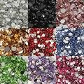 5000pcs 3mm Many Pretty fascinating Colors Acrylic Rhinestone Flatback  Nail Clear Gems Decorative Nail DIY
