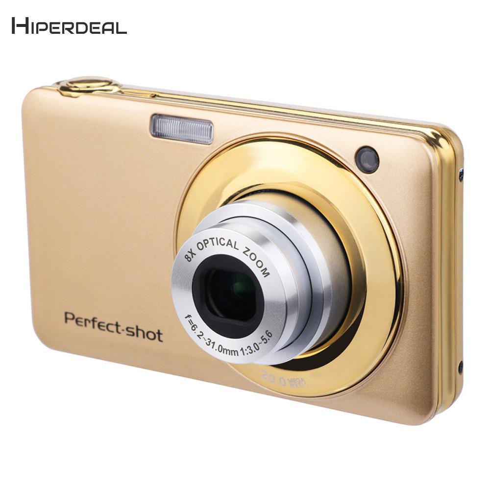 HIPERDEAL Mode 2.7 pouce LCD Écran 20MP 8X Optique Zoom Numérique Caméra Télescopique objectif avec Flash LED Caméscopes BAY16