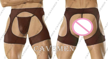 Two sets No crotch*2584*sexy lingerie T-Back G-String Brief Underwear Triangle pants Trousers Suit Jacket boxer  free shipping