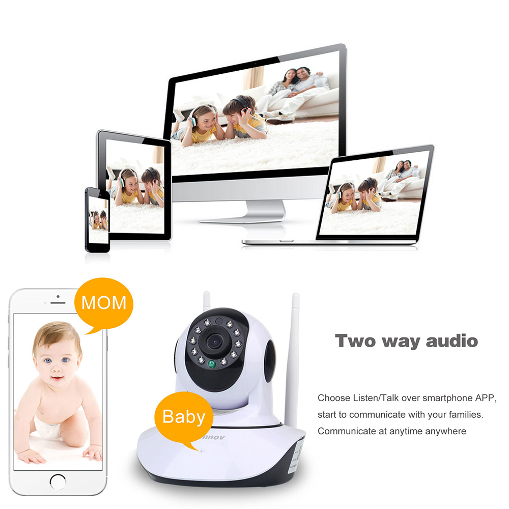 Image 4 - HD 1080P 2MP Home Security IP Camera Wireless Samrt Mini PTZ Audio Video Camara Nanny CCTV Wifi Night Vision IR Baby Monitor-in Surveillance Cameras from Security & Protection