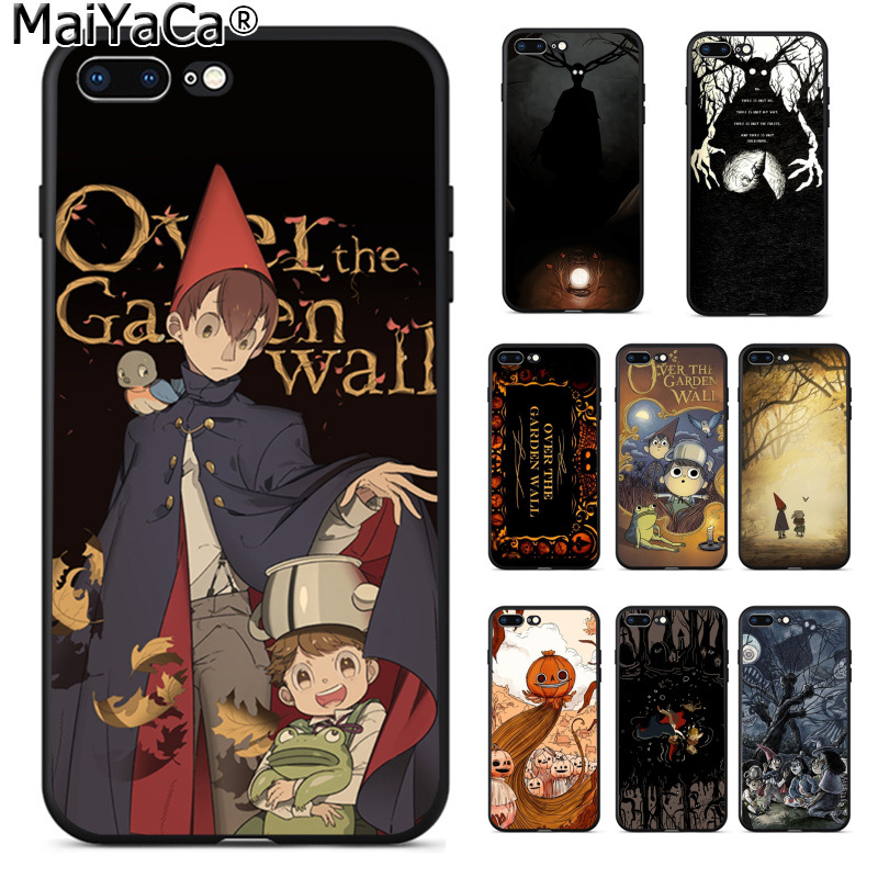 MaiYaCa over the garden wall Painted Cover Style Soft Shell Phone Case for iPhone 8 7 6 6S Plus 5 5S SE XR X XS MAX Coque Shell