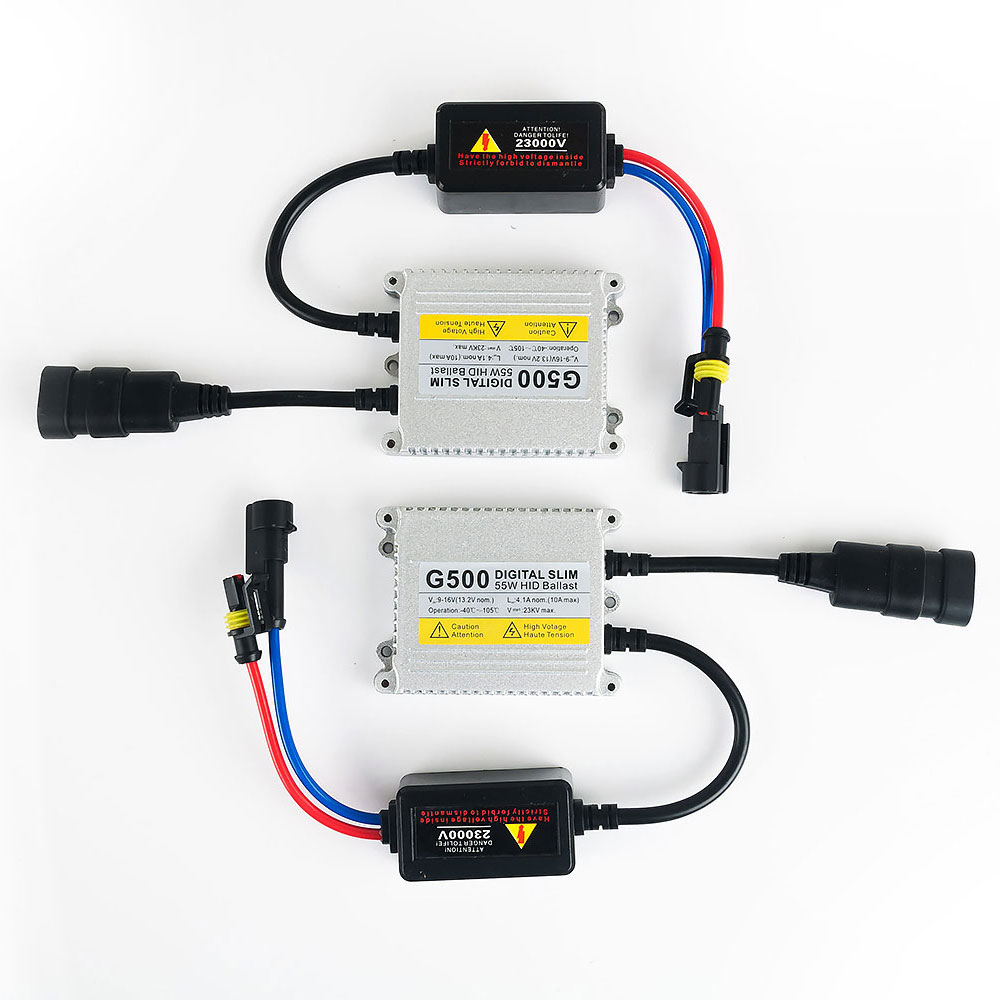 1pc 55W Slim HID Xenon Ballast Replacement Electronic Digital Conversion Ballast,hid ballast 12v 55w