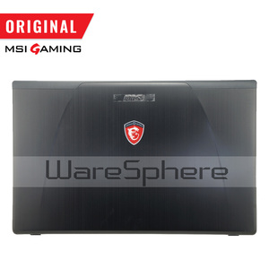 Image 2 - New Original LCD Rear Lid Back Cover for MSI GE70 307759A212A89 Top Cover Without Touchpad 307757C216Y31 Hinges MS 1759 MS 1756
