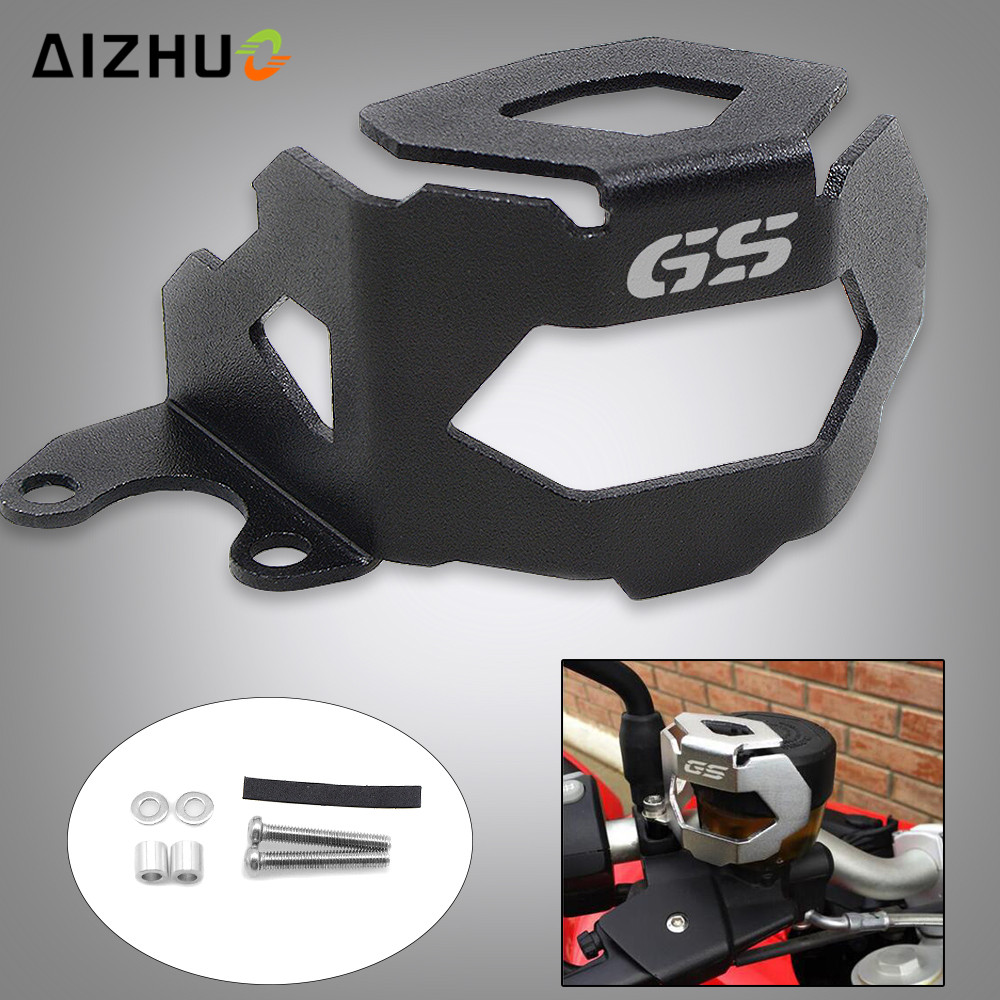 Motorcycle Front Brake Fluid Reservoir Guard Cover Protect FOR BMW F800GS F700GS F 800 <font><b>GS</b></font> <font><b>700</b></font> <font><b>GS</b></font> 2013-2018 2014 2015 2016 <font><b>2017</b></font> image