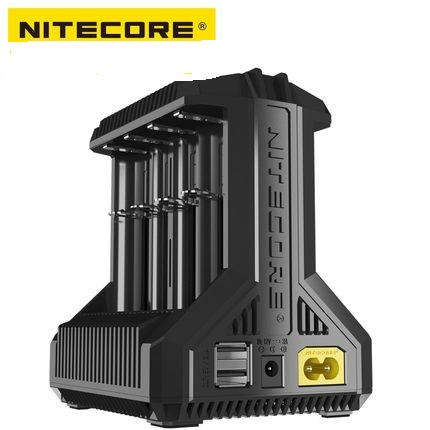 Nitecore i8 Intelligent Charger 8 Slots Total 4A Output Smart Charger for IMR18650 16340 10440 AA